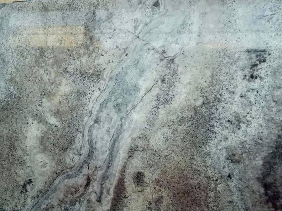 Travertin silver grey mészkő